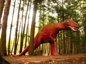 Roadside--Dinosaur